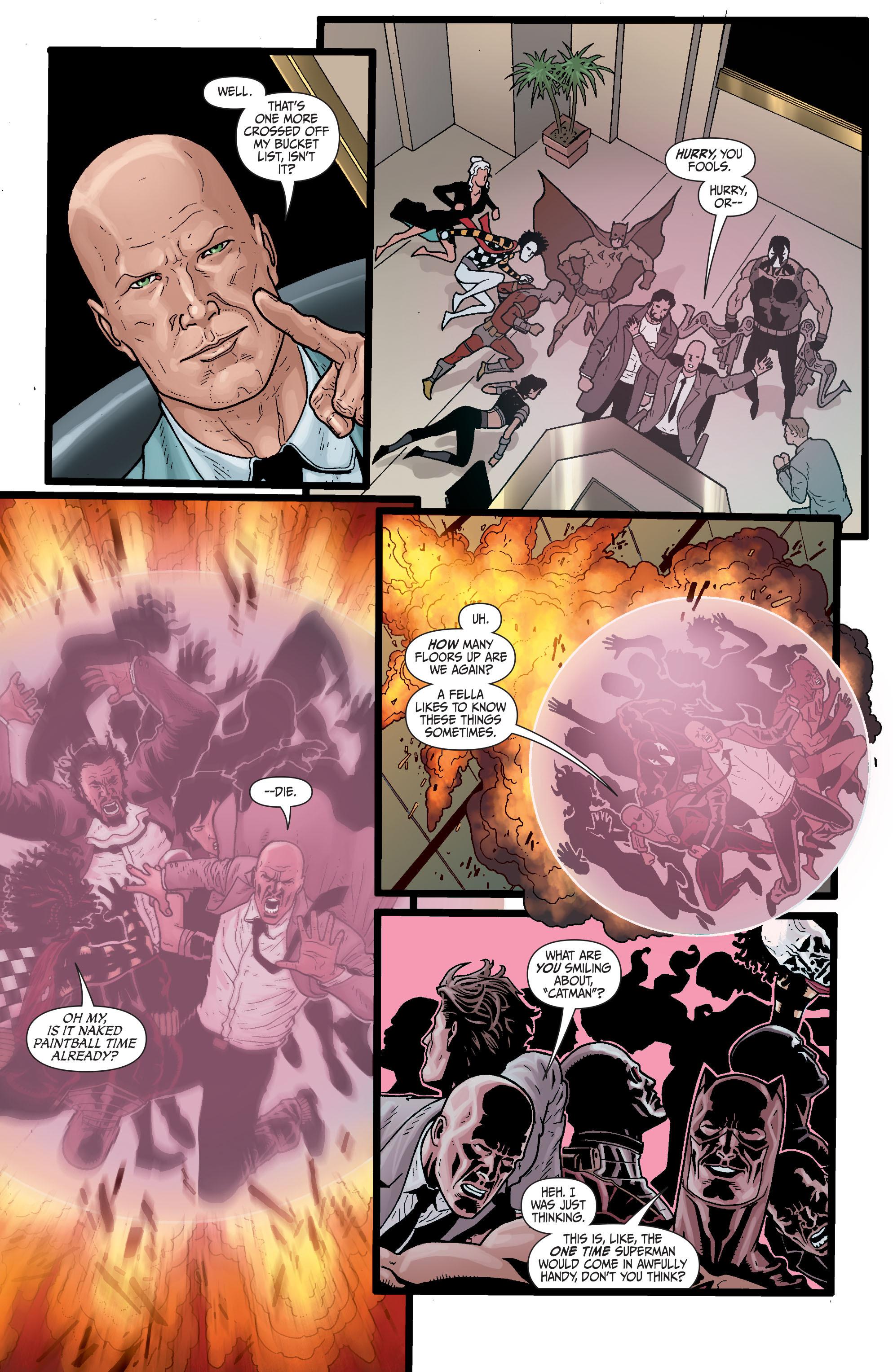 Read online Secret Six (2008) comic -  Issue #29 - 12