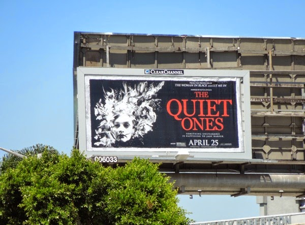 Quiet Ones film billboard