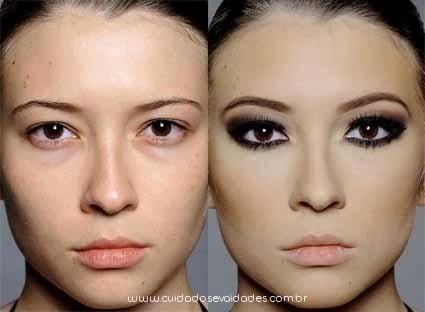 maquiagem com airbrush