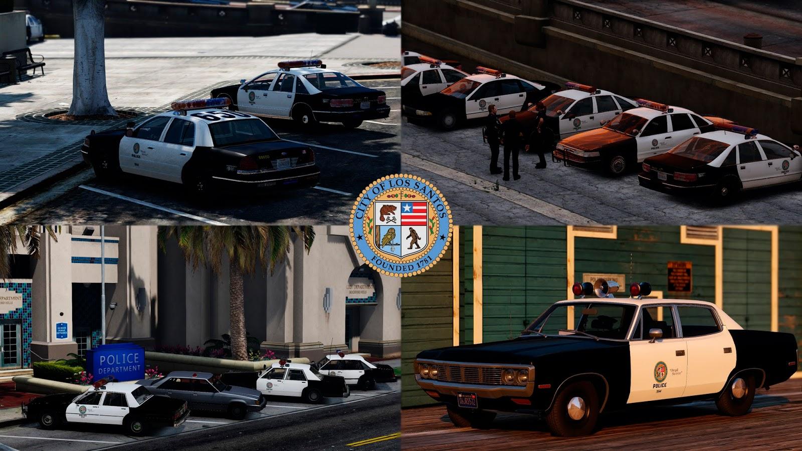 Blogger Lozano: Lore-Friendly Retro Emergency Vehicles Pack