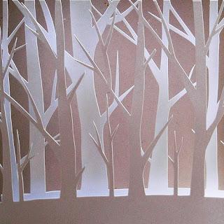 esculturas con papel -paper sculptures- corte de papel- cuadros papel cortado