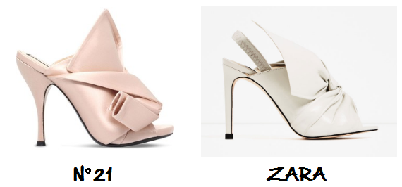 clon sandalias Nº21 Zara