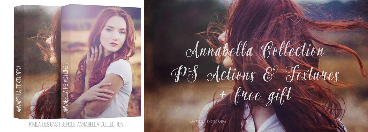 New Annabella PS Action & Textures Collection now on Sale