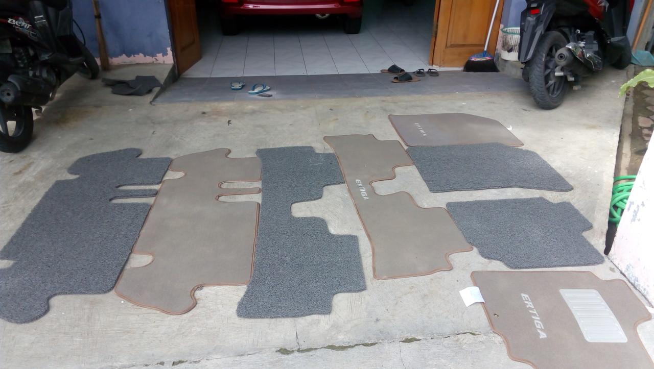DIY buat karpet Ertiga sendiri bahan keset Mie defoyer