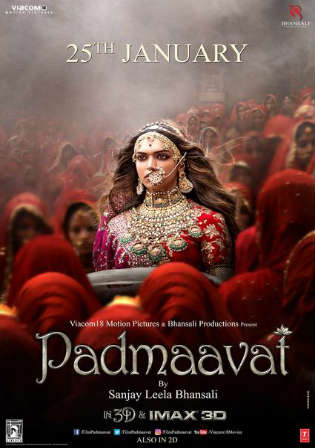 Padmaavat 2018 Pre DVDRip Full Hindi Movie Download x264 Hd Watch Online Free Worldfree4u 9xmovies