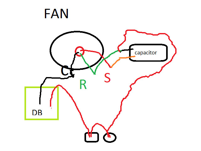 FAN ceiling fan capacitor wiring diagram in bangla maintenance work in