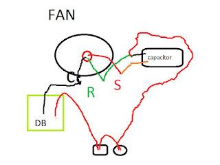 ceiling fan capacitor wiring diagram in bangla maintenance work in ...