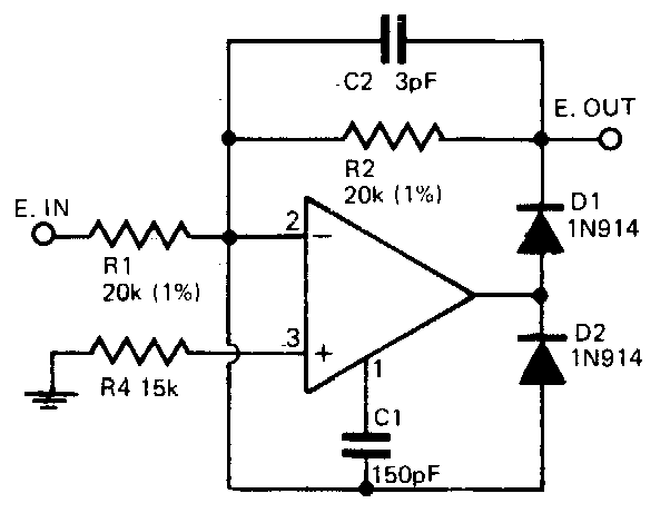 Build a Fast half-wave Rectifier Circuit Diagram