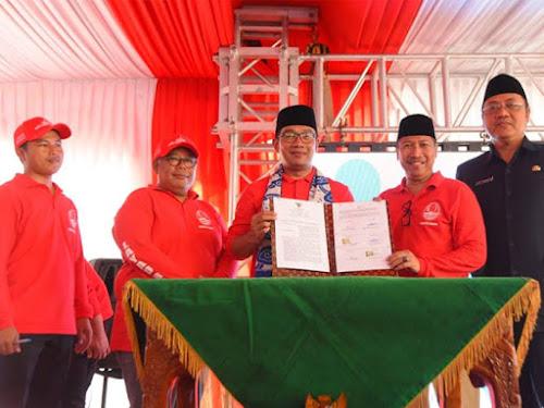 Kunjungan Ridwan Kamil ke Cirebon