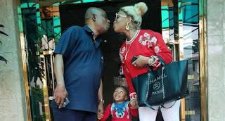 Tonto Dikeh and family