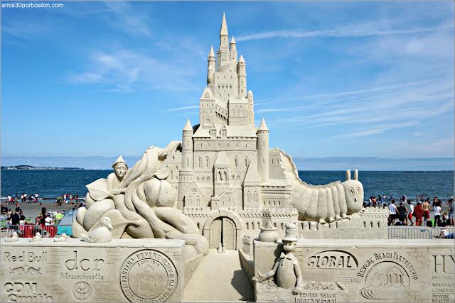 Festival Internacional de Esculturas de Arena de Revere Beach 2018