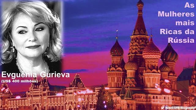 Evgeniya Gureva - As Mulheres Mais Ricas da Rússia em 2018