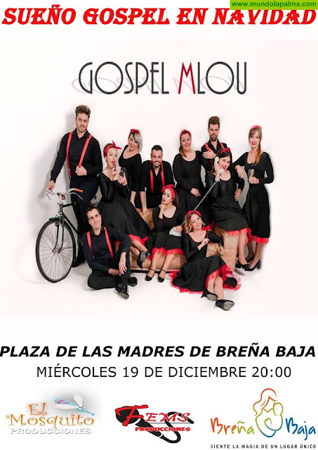 "BREÑA BAJA NAVIDAD: ""Gospel MLOU"""