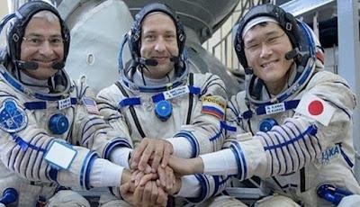 Astronot Jepang Alami Fenomena Pertumbuhan Tubuh