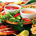 Noite de Comidas Frutos do mar no Restaurante Portal da Ribeirada em Barreirinhas