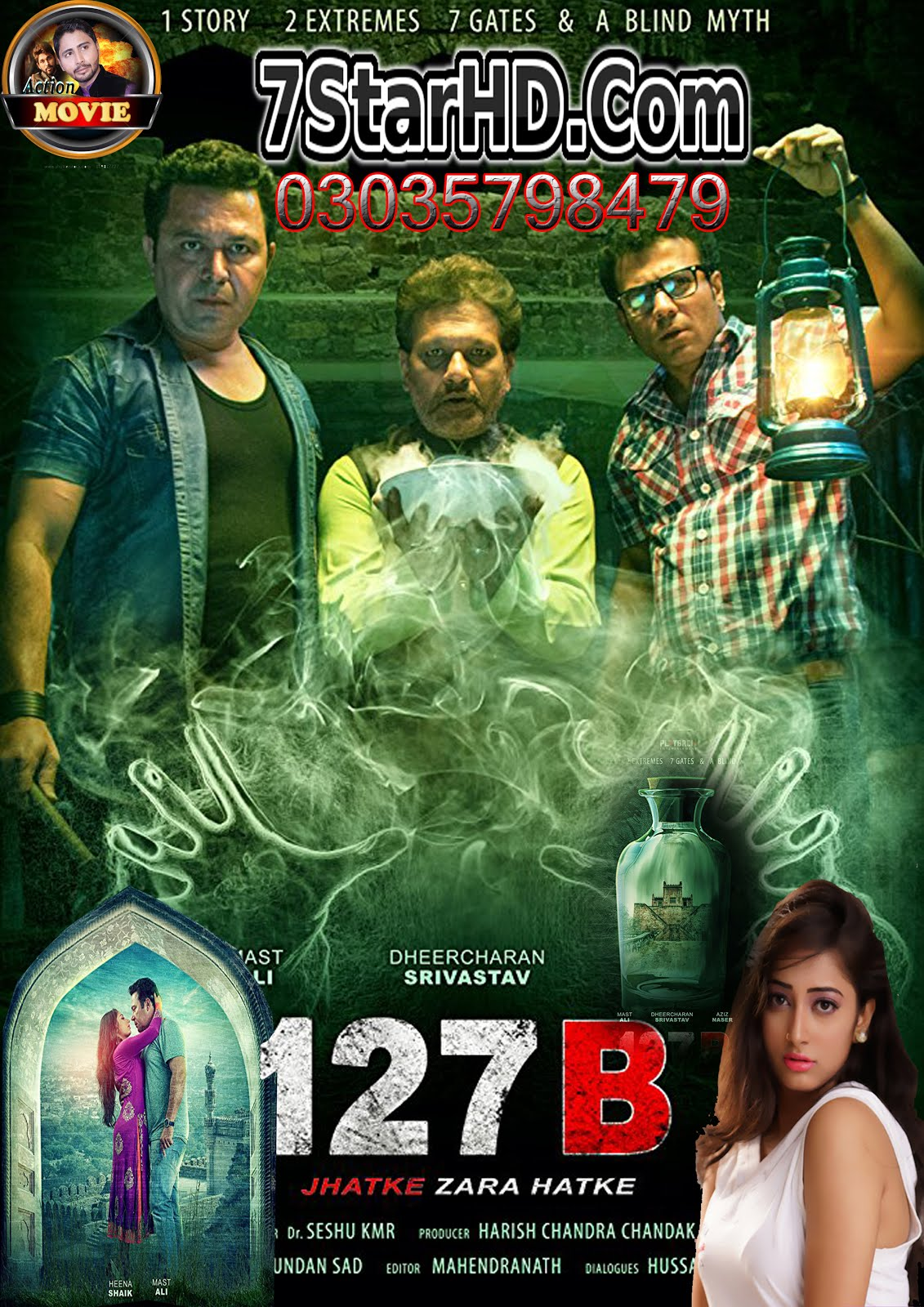 127B Hyderabadi 2018 Hindi 350MB HDRip 480p x264