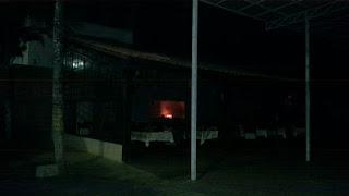 Botijões de gás pegam fogo e causa incêndio em restaurante na cidade de Cuité, veja vídeo