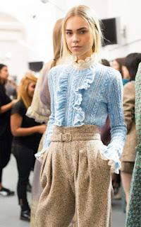 DIY: Шью трендовое платье с рюшами