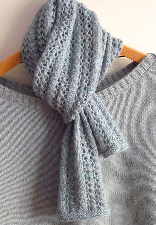 Little Leaf Lace Scarf - Free Pattern
