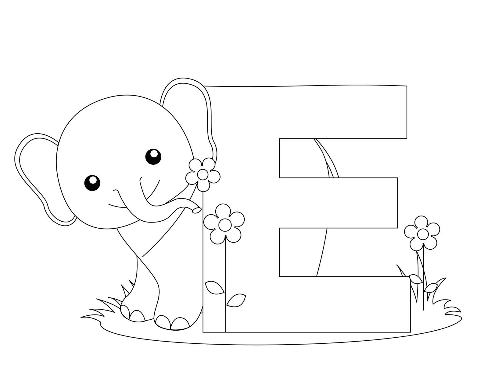 Desenho De Letra Z De Zoológico Para Colorir: Alfabeto Animais Zoológico Para Colorir Em Inglês