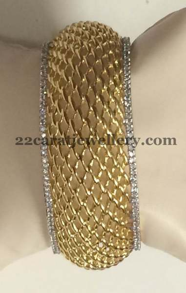 Real Look 1 Gram Gold Bangles Gallery Jewellery Designs
