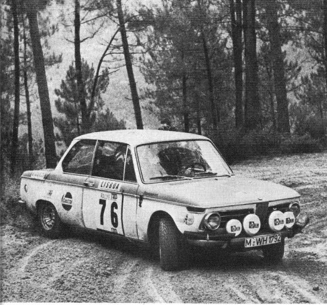76 Bmw 2002 Modified: 課長睪耕作: 1/18 BMW 2002 Tap Rally #76 1972 [AUTOart]