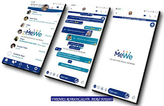 MeWe Theme For YOWhatsApp & Fouad WhatsApp By Robson