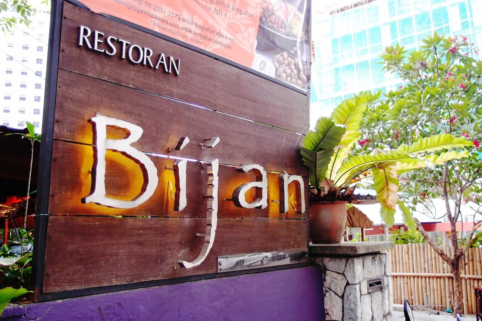 Bijan Bar Restaurant Fine Malay Cuisine A Ramadan Treat Jalan Ceylon Bukit Bintang