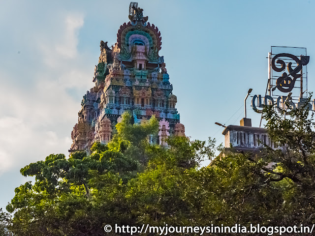 Trichy Virali Malai Temple Tower
