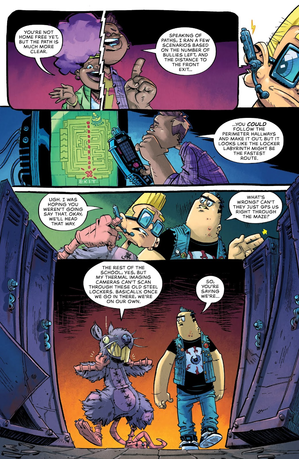 Read online Bully Wars comic -  Issue #4 - 16