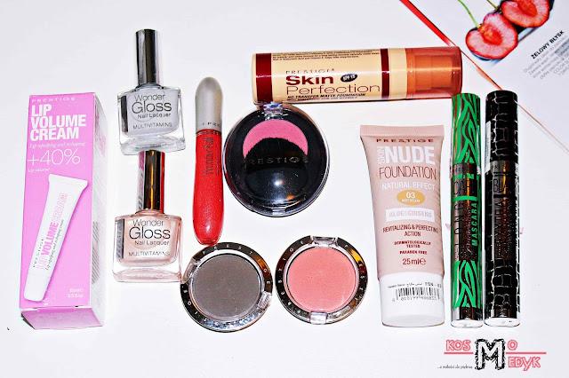 Prestige Cosmetics | Przegląd kosmetyków kolorowych.