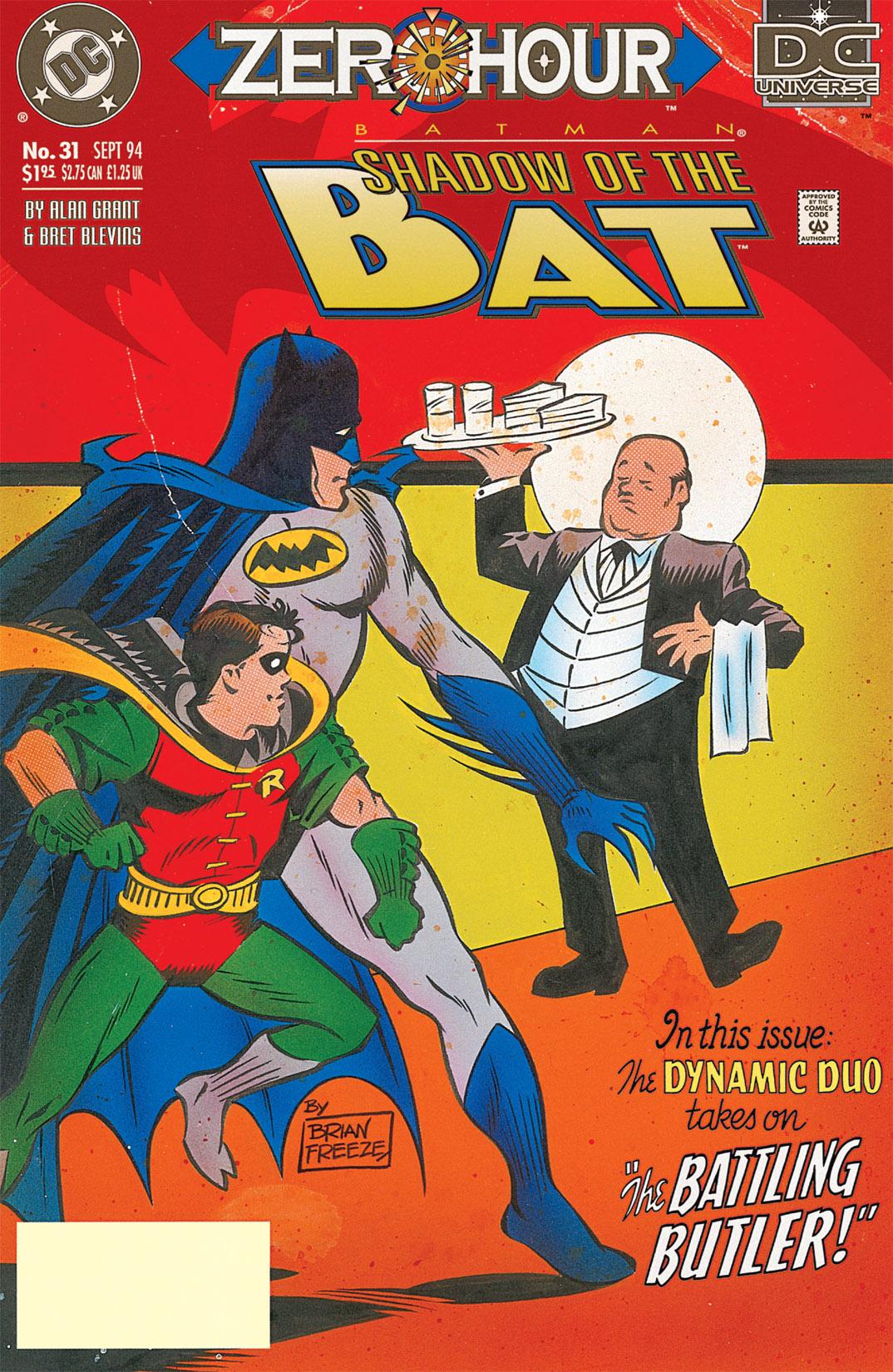 Batman: Shadow of the Bat 31 Page 1