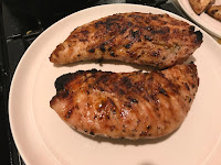 Picture of Turkey Breasts Done off of the Grill