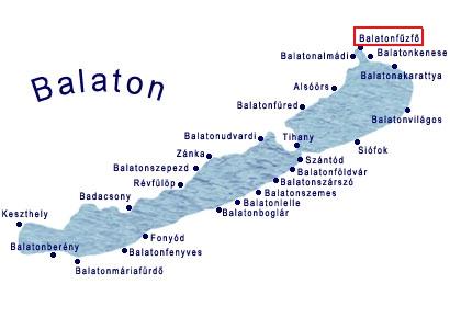 balatonfűzfő térkép Andrea apartman   nyaralás, nyugalomBalaton :): Elérhetőségek  balatonfűzfő térkép