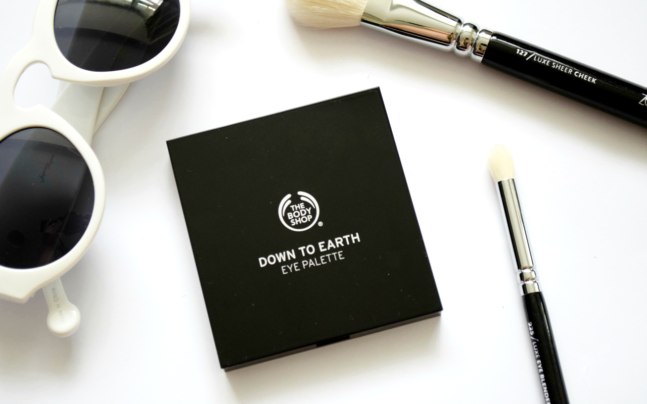 The Body Shop Down to Earth Eye Palette Review
