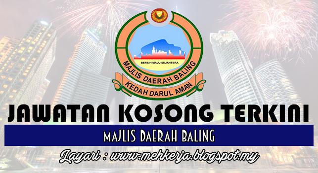 Jawatan Kosong Terkini 2016 di Majlis Daerah Baling
