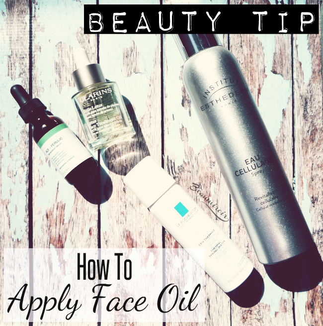 Beauty tip: a better way to apply face oil