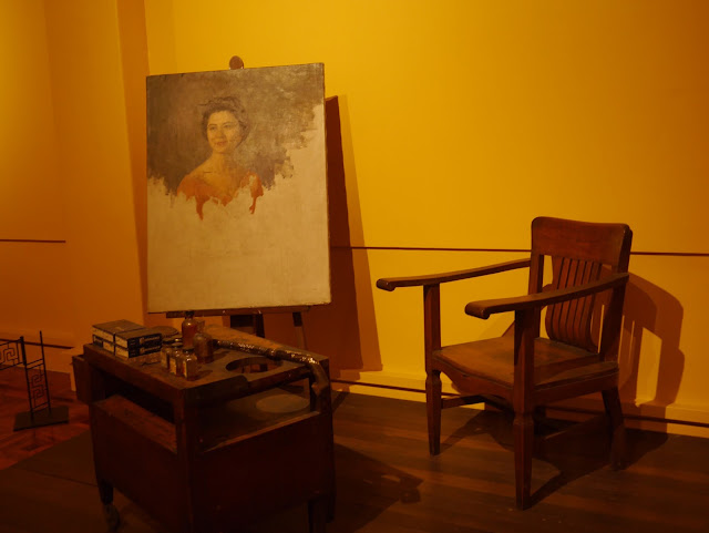 unfinished painting of Juan Luna