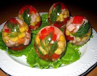 салаты,салат,салат из яиц,заливное,холодец