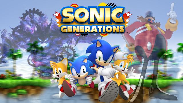 تحميل لعبة  مغامرات سونيك جينيريشن sonic generations للكمبيوتر برابط مباشر مضغوطة ميديا فاير