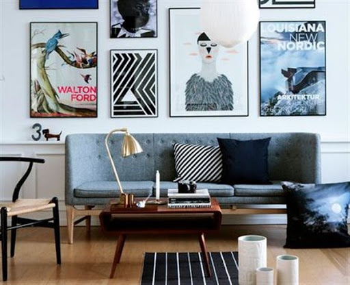 Sleek sofas and sectionals for small spaces