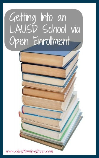 Getting in via Open Enrollment - chieffamilyofficer.com