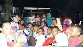 takbir keliling anak-anak kampung