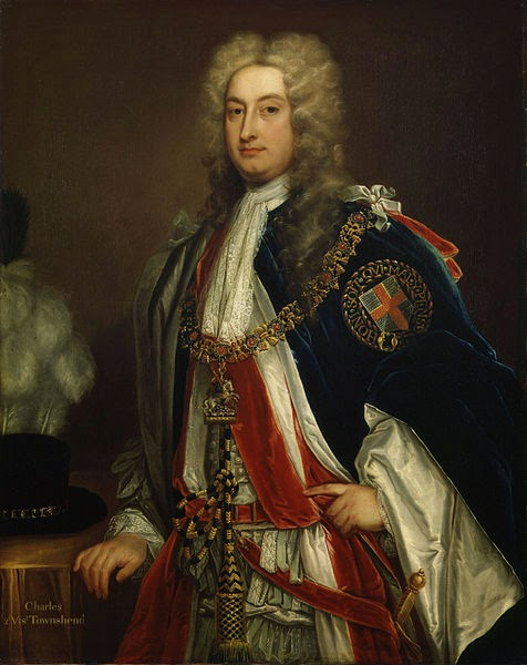 Charles Townshend, 2nd Viscount Townshend by Sir Godfrey Kneller