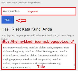 Teknik Membuat AGK pada Blogspot