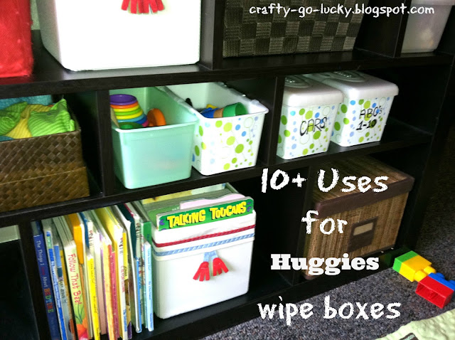 10+ Awesome Uses for Huggies Wipe boxes!