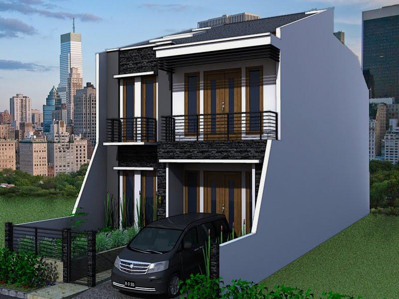 Rumah Minimalis Type 36 2 Lantai - Desain Rumah