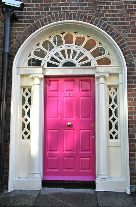 Colorful Front Doors: Entirely Eventful Day