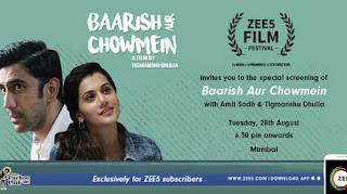 Baarish Aur Chowmein 2018 Hindi Movie HDTVRip | 720p | 480p