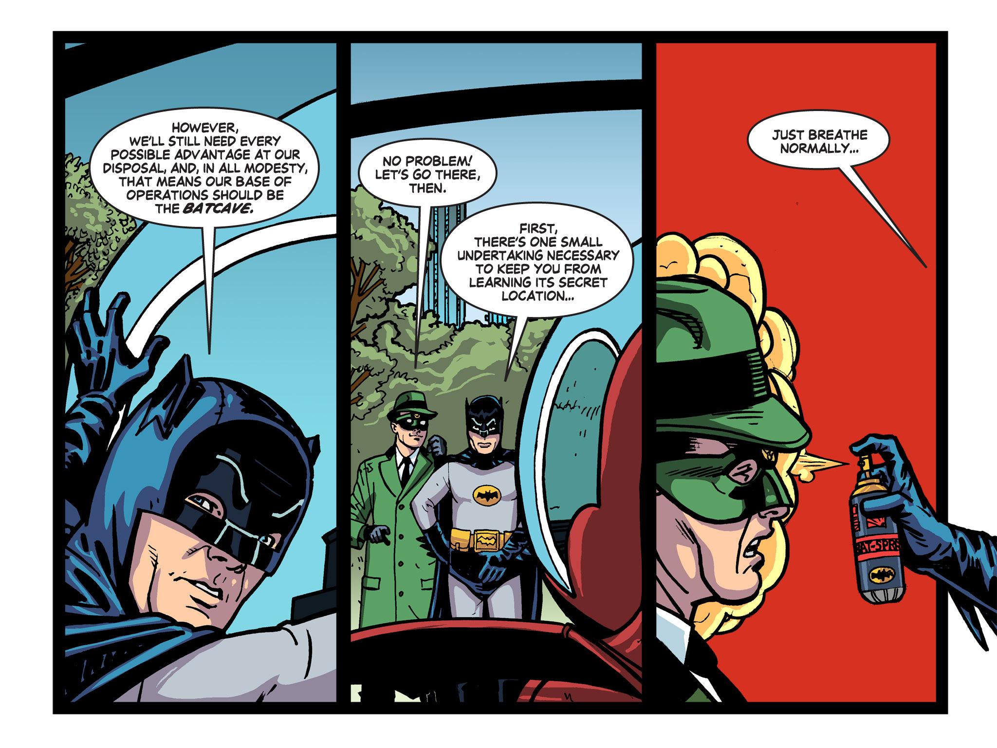 Read online Batman '66 Meets the Green Hornet [II] comic -  Issue #5 - 42